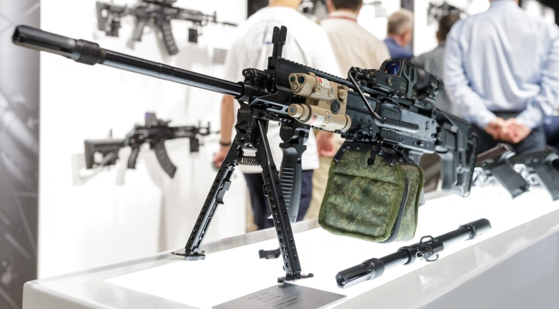 Kalashnikov Reveals RPL-20 Belt-fed Light Machine Gun