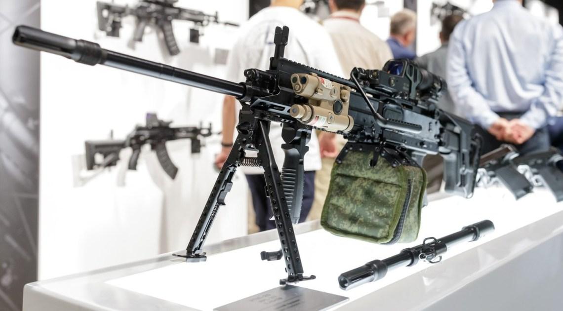 Kalashnikov Reveals RPL-20 Belt-fed Light Machine Gun