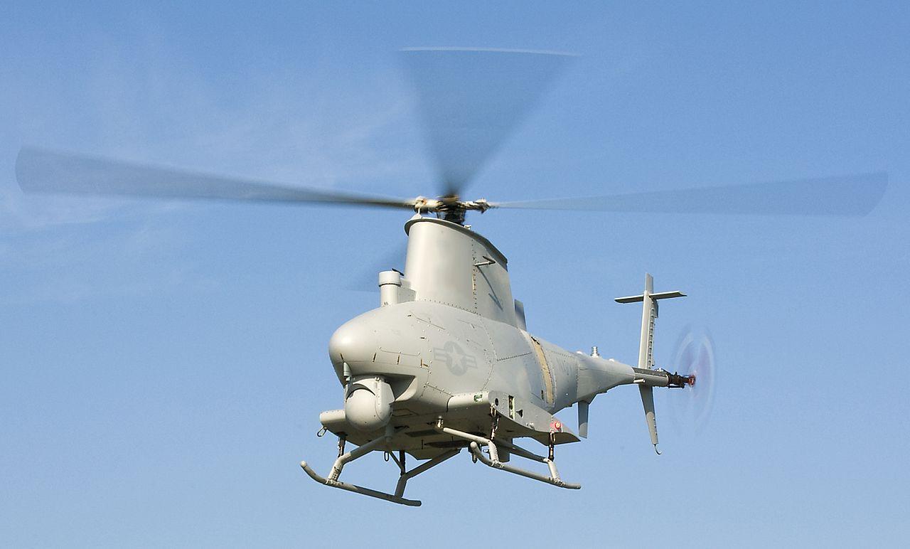 Northrop Grumman MQ-8 Fire Scout Unmanned Autonomous Helicopter