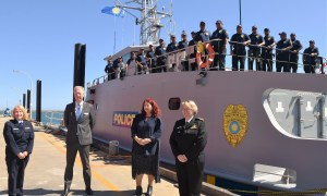 Republic of Palau Receives Austal Guardian-Class Patrol Boat