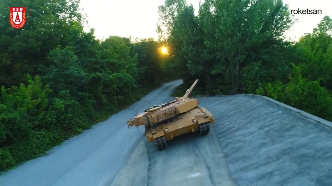 Turkish Army to Receive Leopard 2A4 with Roketsan T1 Reactive-Passive Armor