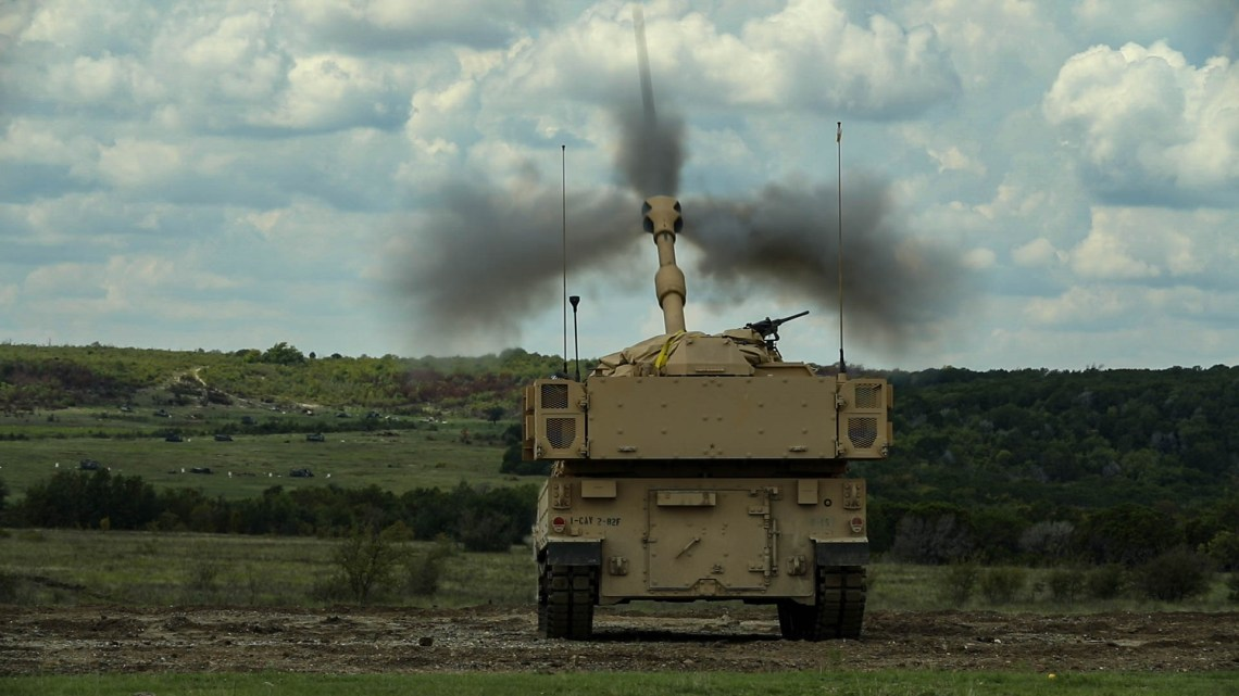 U.S. Army 3rd Armored Brigade Combat Team Receives M109A7 Paladin Howitzer
