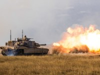 US Army 3rd ID M-1 Abrams Tank Live-fire Exercise