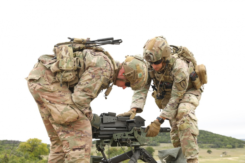 US Army 3rd Security Force Assistance Brigade Hones Weapons Skills