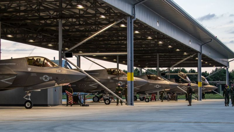 US Marine F-35Bs Land in UK to Prepare for Deployment on British Carrier