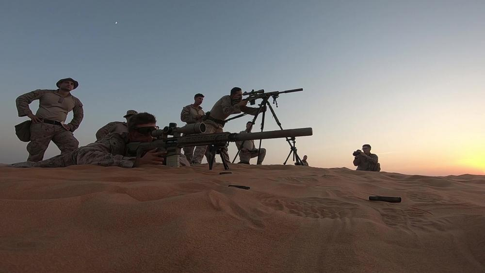 USMC, UAE Start Bilateral Engagement Falcon Sentry