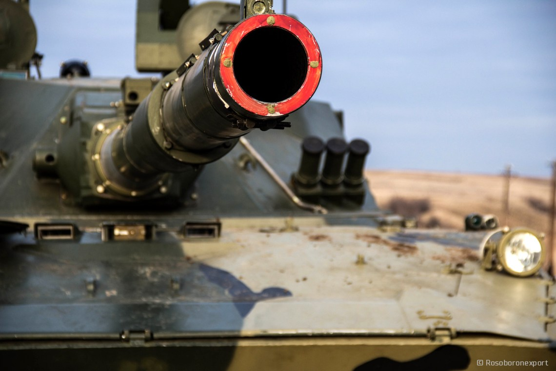 2S25M Sprut-SDM1 Light Amphibious Tank (LAT)