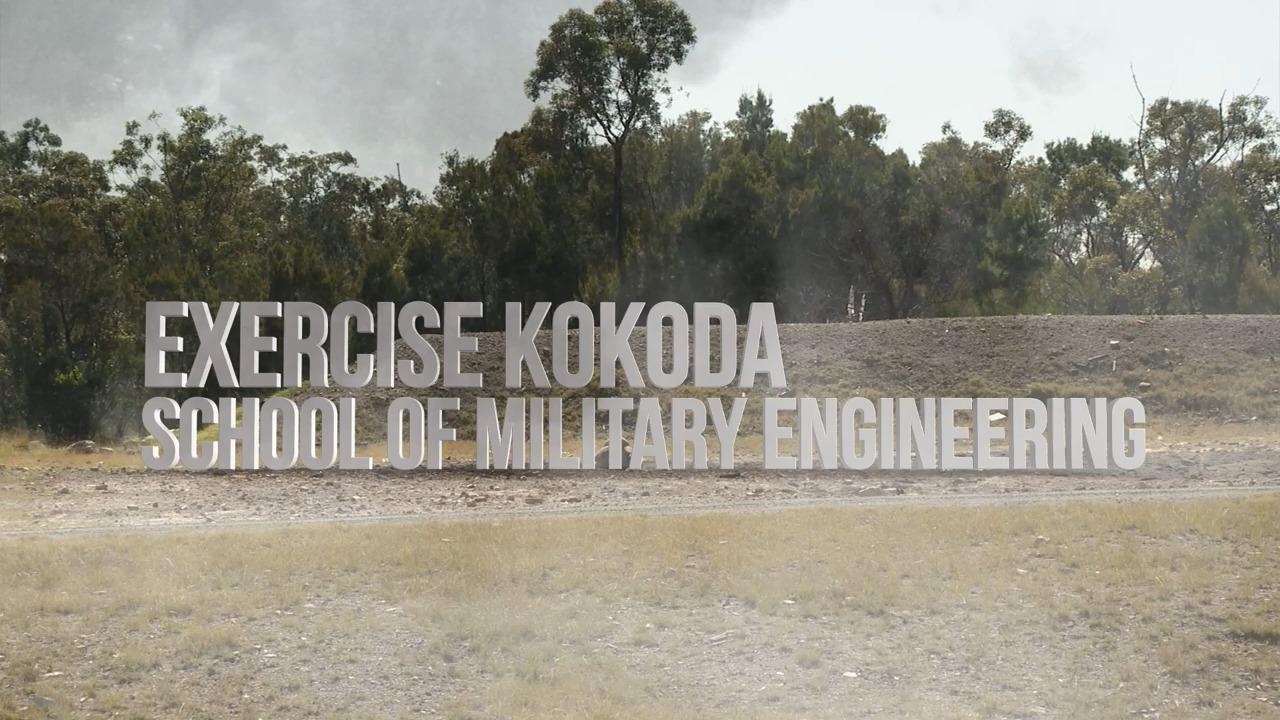 Exercise Kokoda, School of Military Engineering