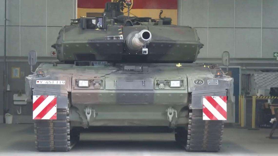 German Army Leopard 2A7V Main Battle Tank