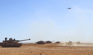Jordan Army Deploys for the First Time Leclerc Tanks During Military Exercise