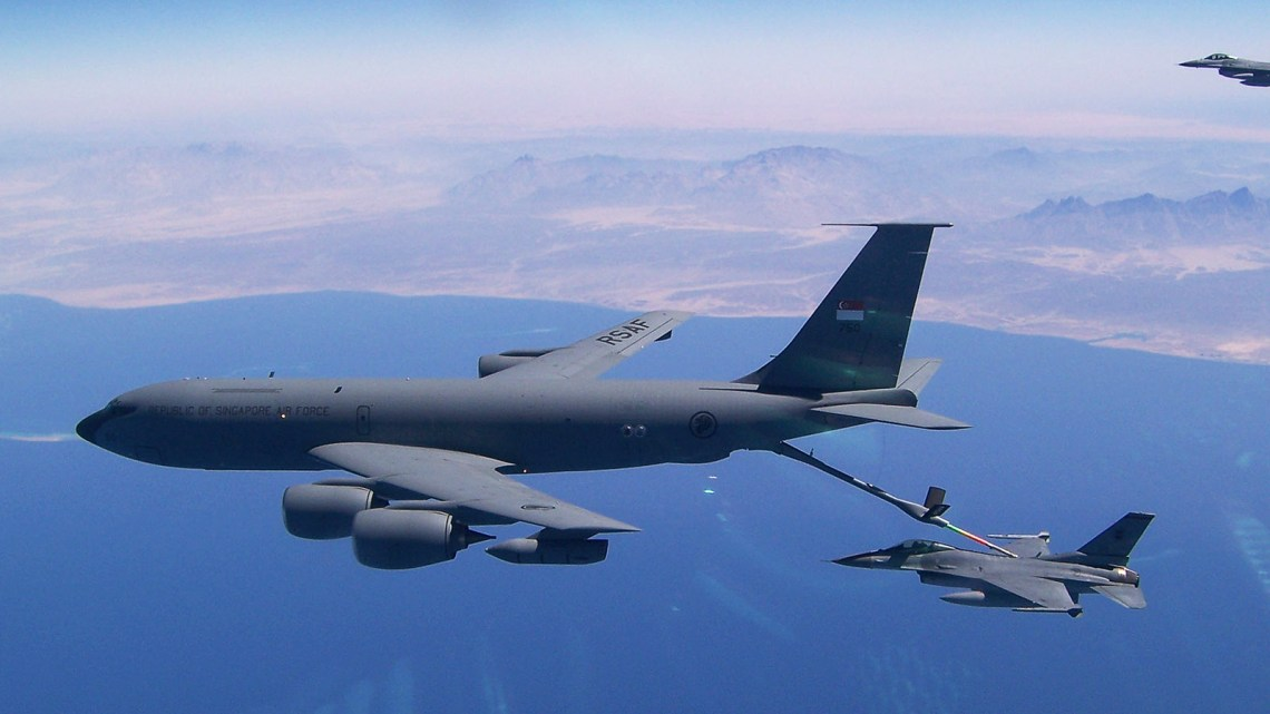 The KC-135Rs conducted some of the longest deployments of our fighters around the globe.