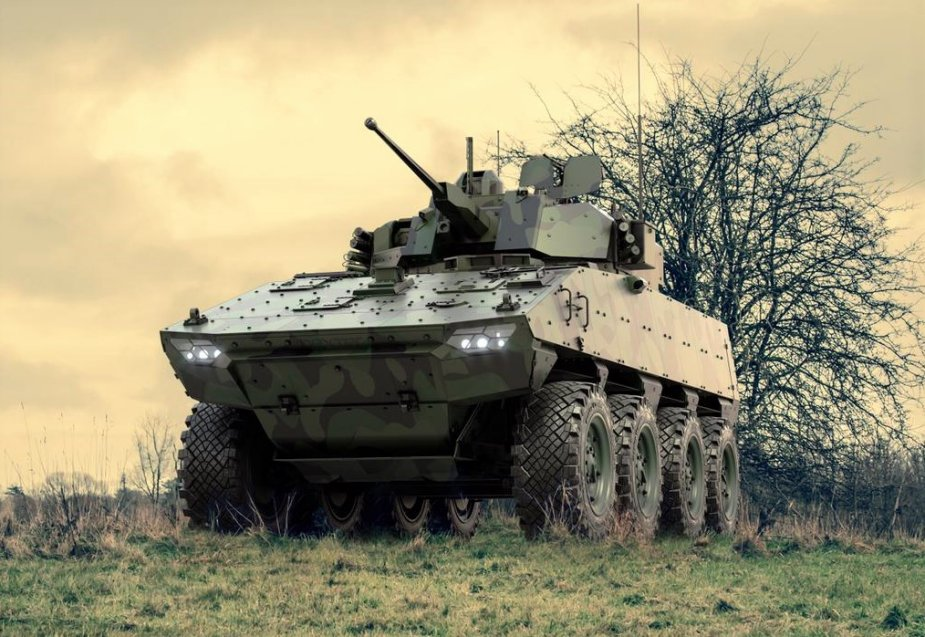 Nexter Group Unveil VBCI Fitted with John Cockerill Defense 3030 Turret