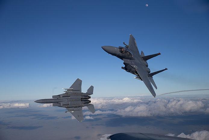 Boeing F-15EX Multirole Strike Fighter