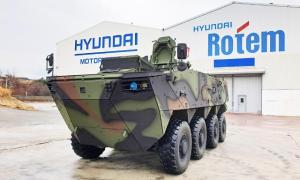 Republic of Korea Army Orders 3rd Batch of Hyundai Rotem K806 and K808 Vehicles