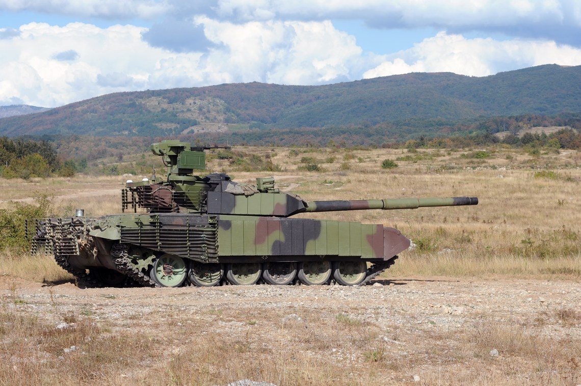 Serbian Ministry of Defence Showcases Upgraded M-84 AS1 Main Battle Tanks