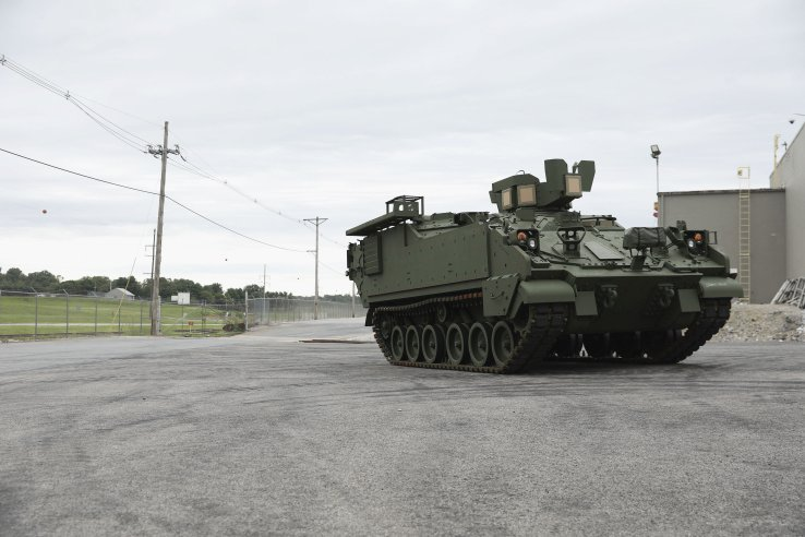 US Army Receives Second Armored Multi-Purpose Vehicles (AMPVs)
