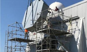 US Navy Installs New Radar at Cruiser in Cornfield Test Site