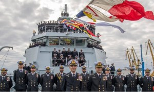 Pakistan Navy Offshore Patrol Vessel PNS Tabuk Commissioned in Romania