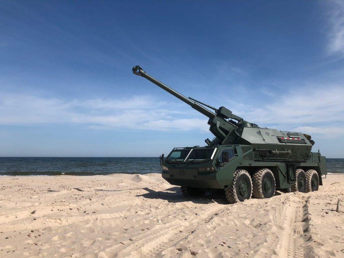 DANA M2 Self-Propelled Howitzers