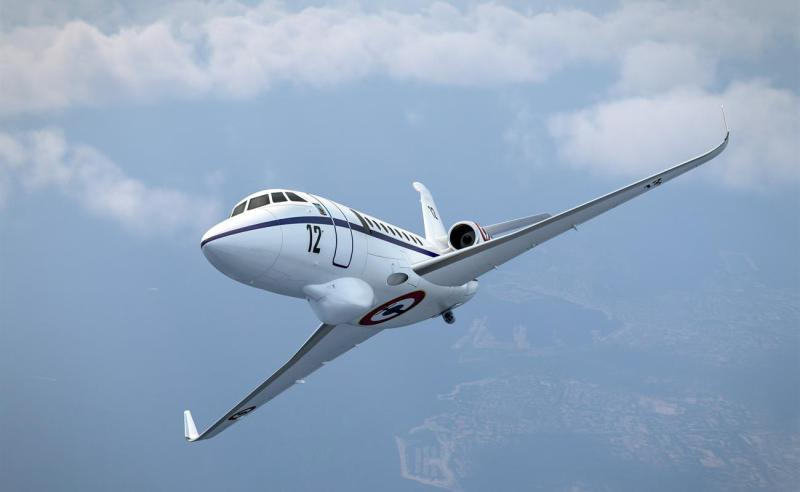 France Navy Orders 12 Falcon 2000 Maritime Surveillance Aircraft