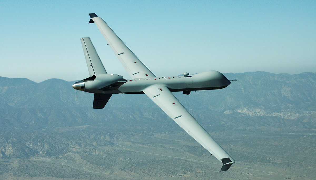 GA-ASI Awarded Smart Sensor Contract for Unmanned Aircraft
