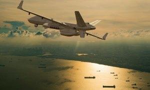 MQ-9 SeaGuardian Aerial Drone