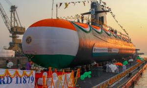Naval Group India Launches Fifth Scorpene-class Submarine
