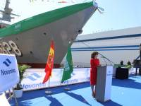 Navantia Launches Second Royal Saudi Naval Forces Corvette