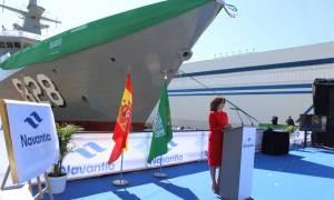 Navantia Launches Second Royal Saudi Naval Forces Corvette