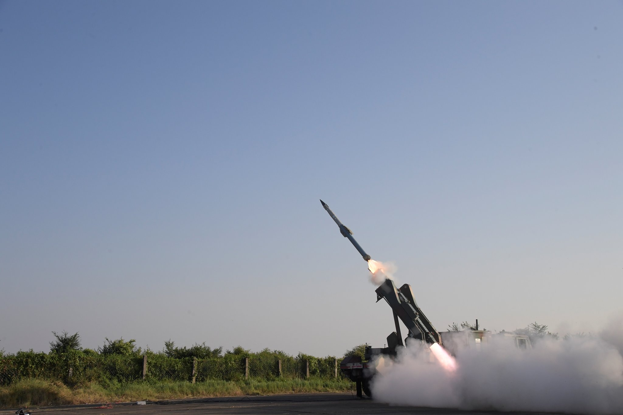 India Claims Major Milestone for Quick Reaction Surface to Air Missile (QRSAM) System