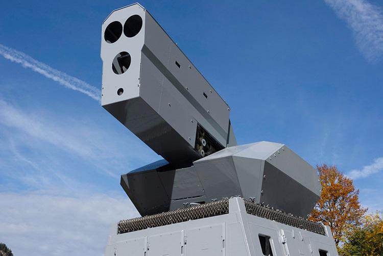 Rheinmetall Skyshield High-Energy Laser (HEL) effector
