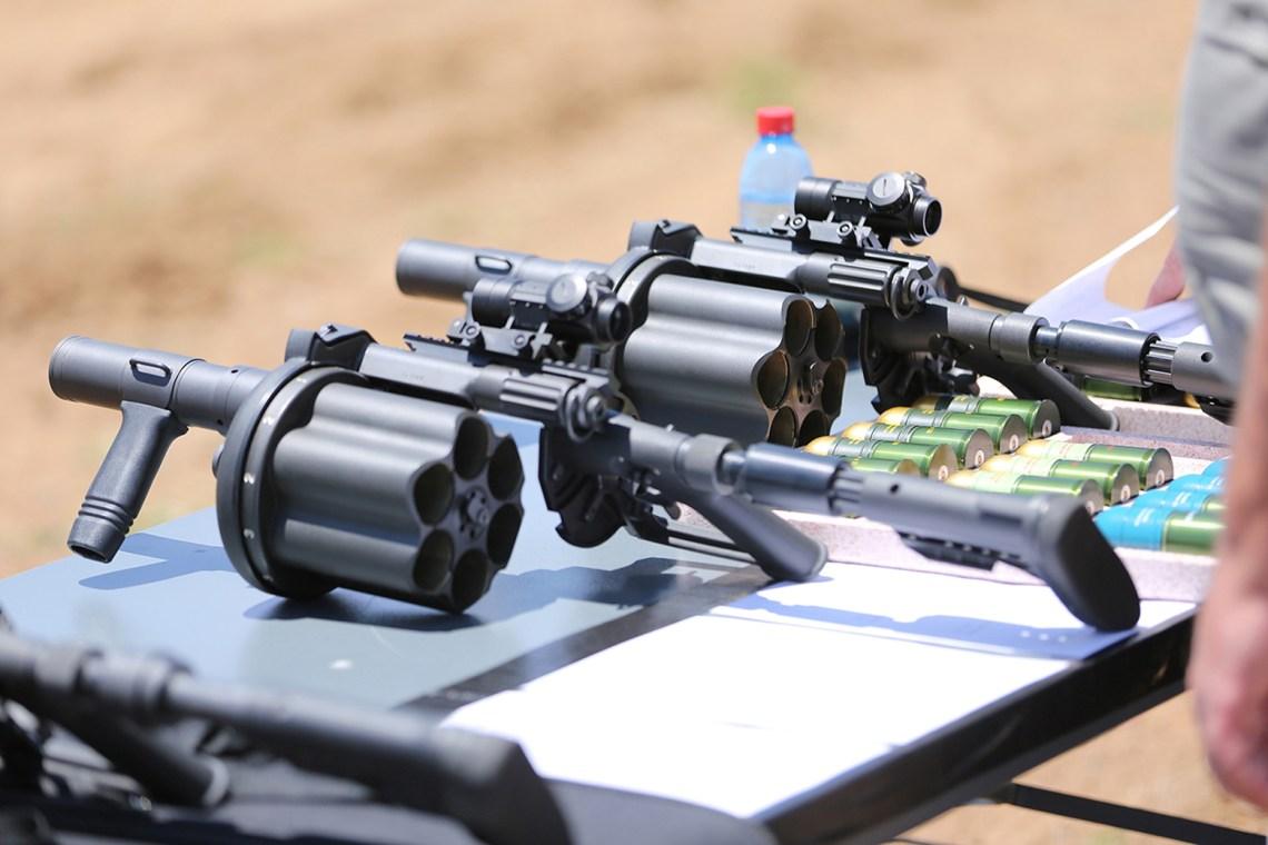 Rheinmetall Denel Munition 40mm Medium-Velocity Ammunition