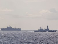 Royal And Egyptian Navies Showcase Amphibious Forces Off Aexandria