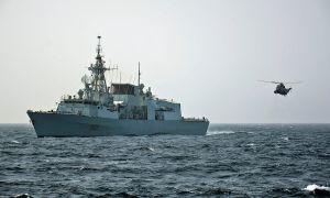 Royal Canadian Navy Halifax-class