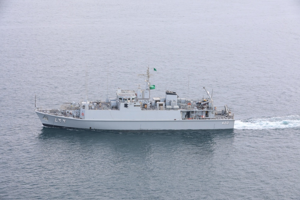 Saudi, UK and US Naval Forces Conduct Mine Countermeasures Training