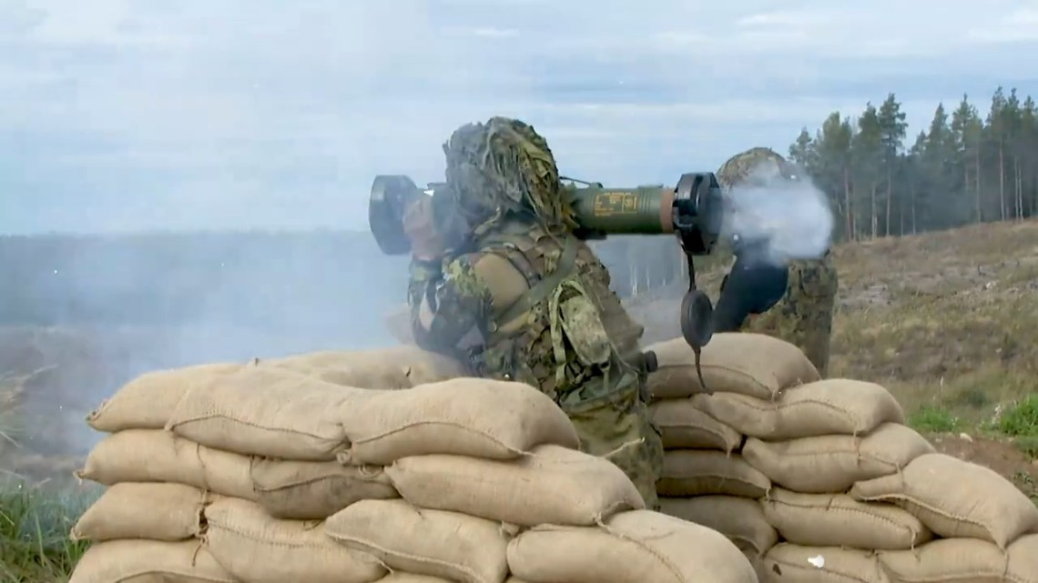 SPIKE SR (Short Range) Missile Capabilities Demonstrated in Estonia