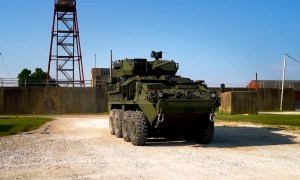 Stryker A1 Medium Caliber Weapon System (MCWS)