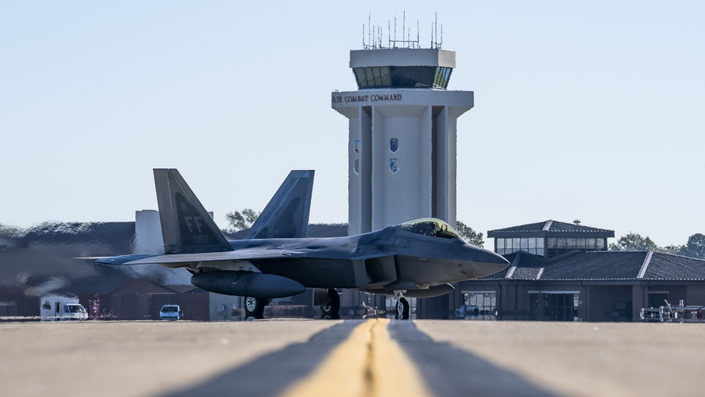 US Air Force 1st Fighter Wing Raptors Deploy to Support Western Pacific
