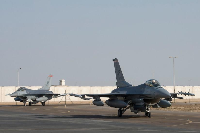 US Air Force Deploys F-16 Squadron to UAE