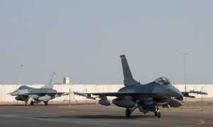 US Air Force Deploys F-16 Squadron to UAE
