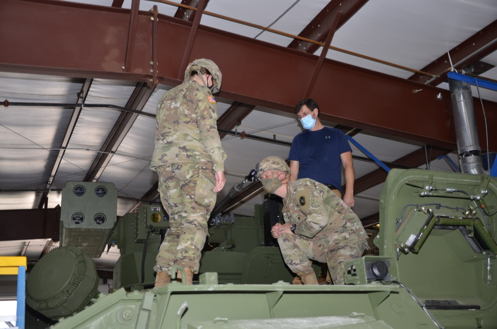 US Army Soldiers Get Hands-on with IM-SHORAD Air Defense System
