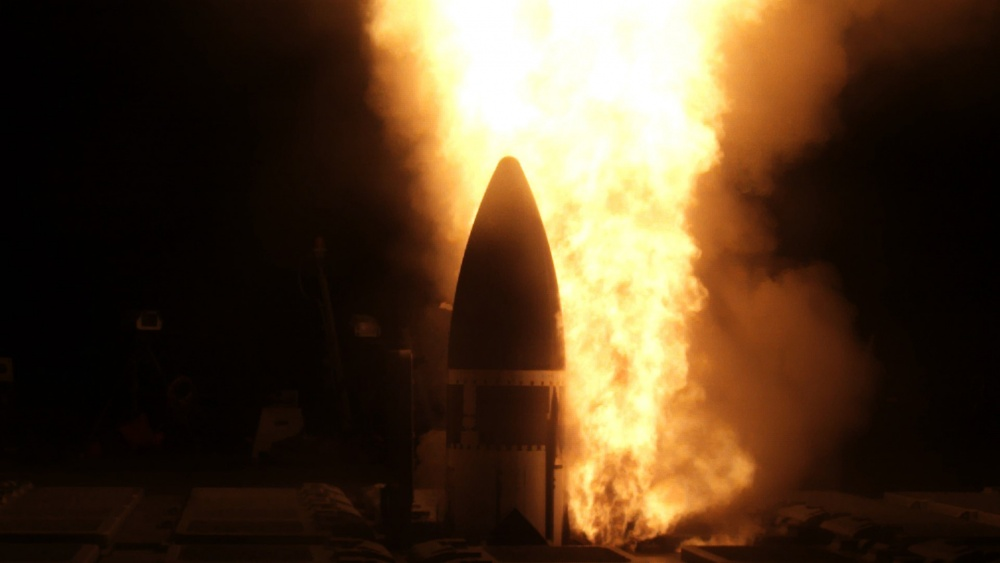 US Army Space and Missile Defense Command Support Anti-ICBM Test