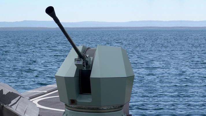 BAE Systems Bofors 40 Mk4 Naval Gun