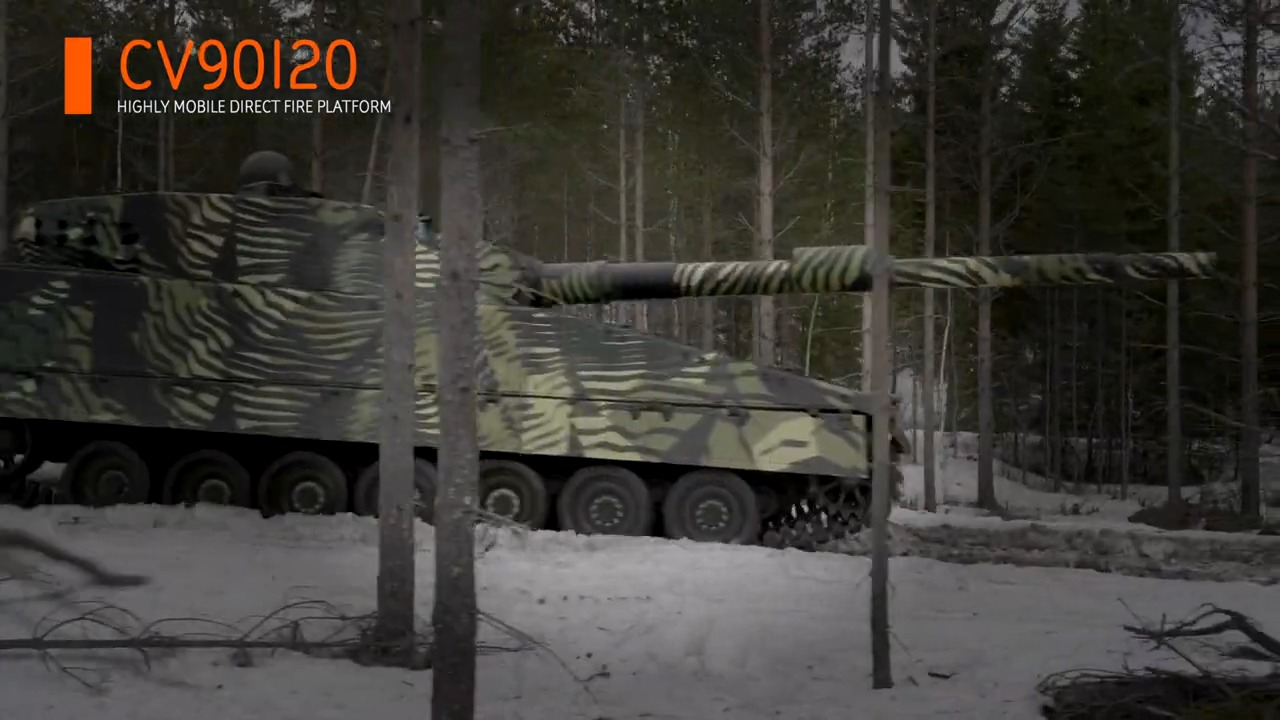 BAE Systems Hägglunds CV90120 Light Tank