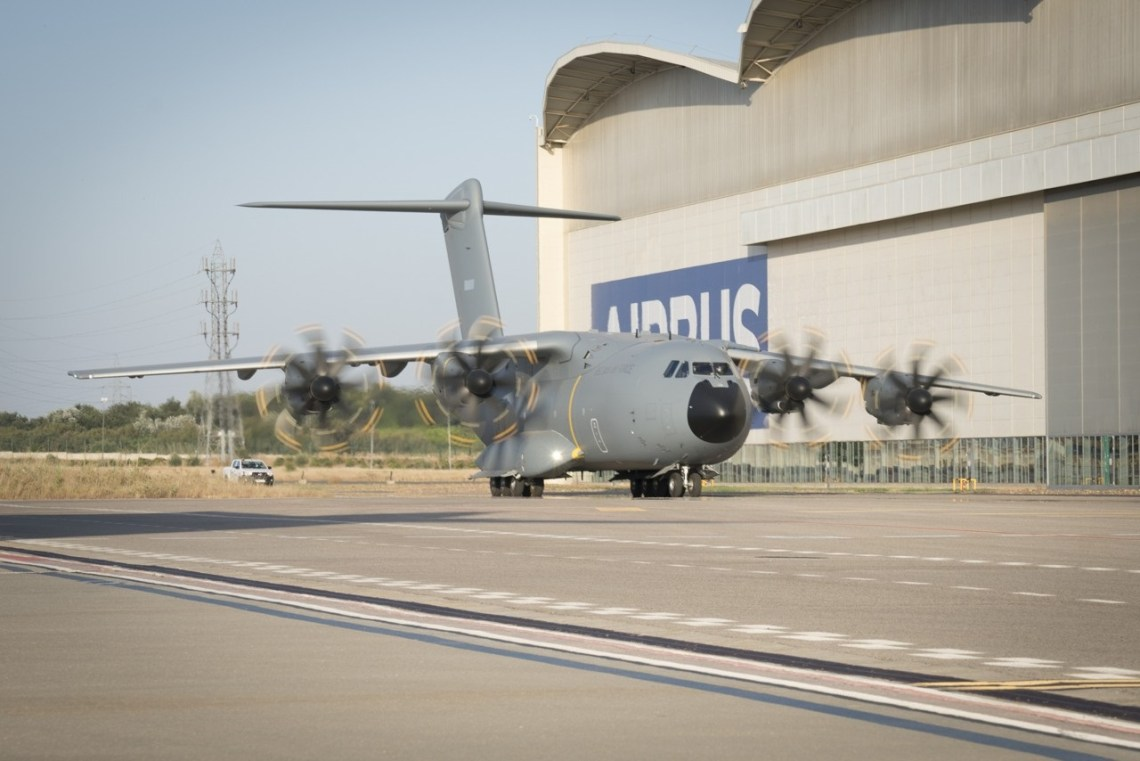 Belgian Air Force Receives First Airbus A400M Atlas Military Aircraft