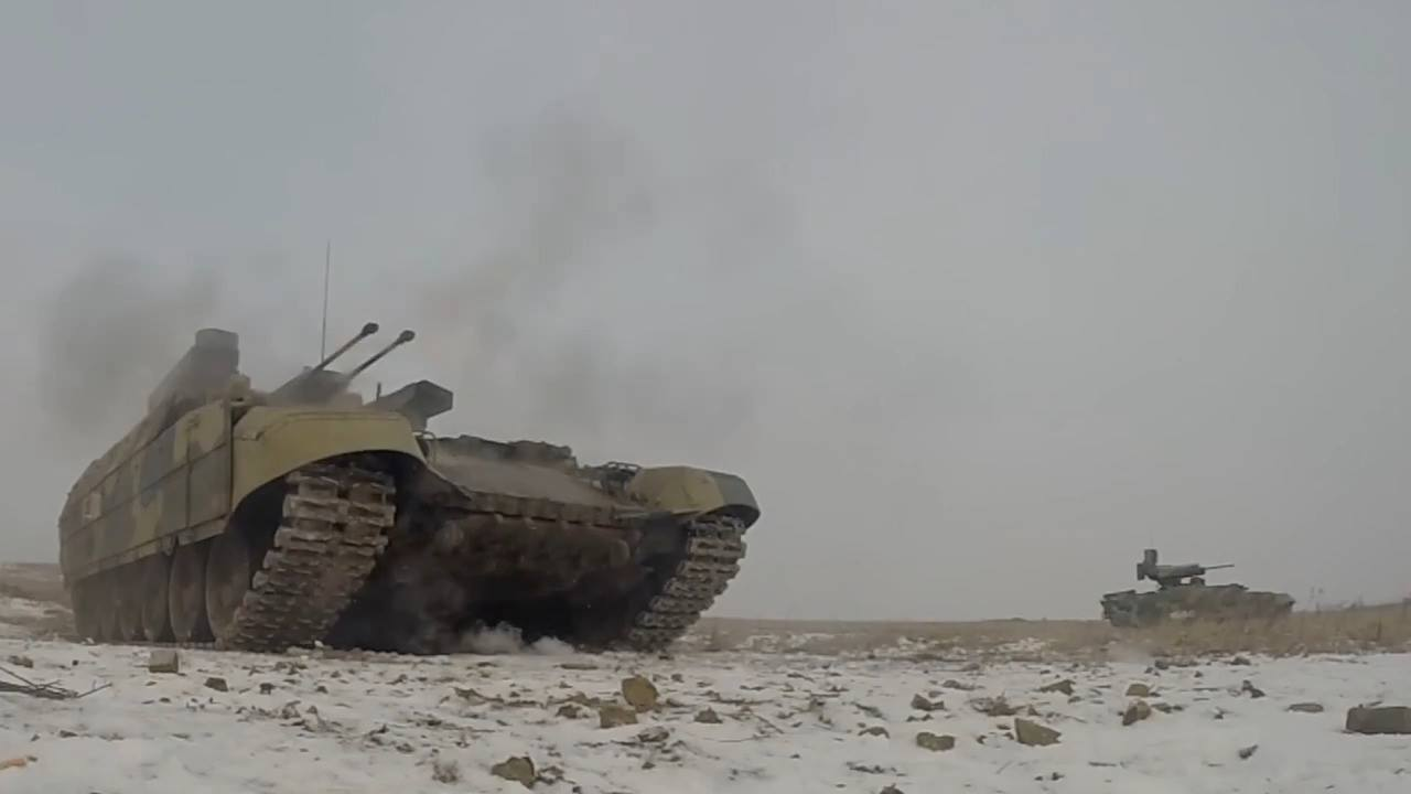 BMPT Terminator Tank Support Fighting Vehicle