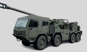 EVA 8x8 155mm Self-Propelled Howitzer