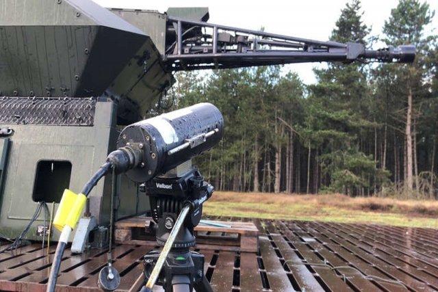 German Army Mantis Counter Rocket Artillery and Mortar (C-RAM)