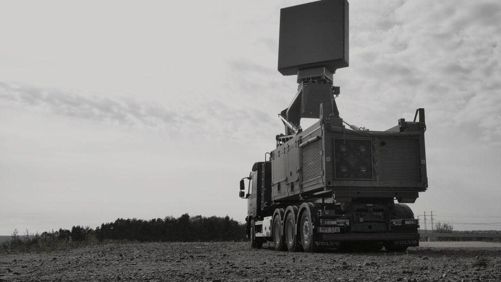 SAAB Giraffe 4A Multifunctional Radar
