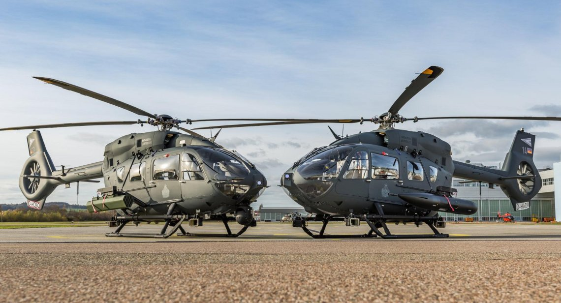 Airbus Upgrades Hungarian Air Force H145Ms with HForce Weapons Management